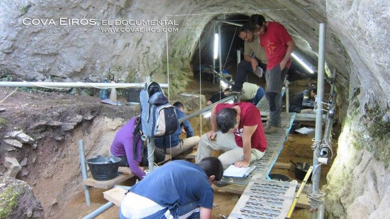 El acceso a la cueva será excavado hasta el nivel cuatro, que se corresponde con una antigüedad de alrededor de 80.000 años